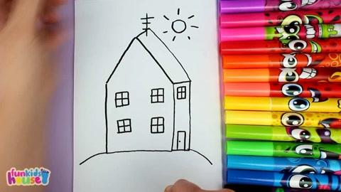 趣味涂画 简笔画 儿童图画 幼儿园简笔画