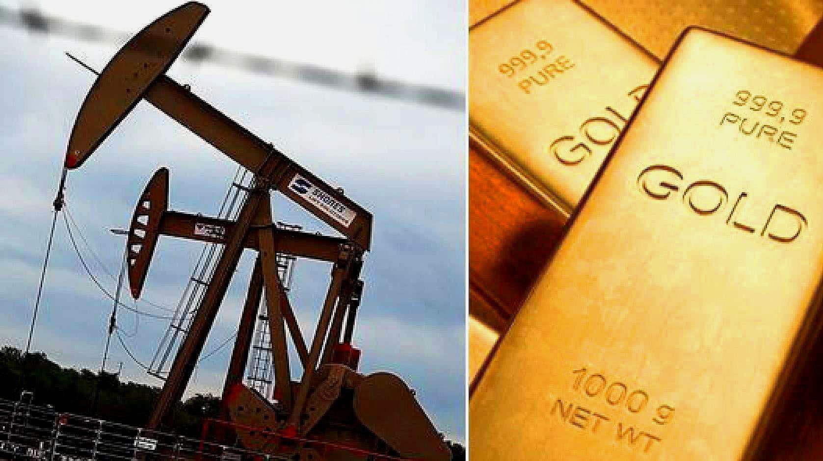 美国捍卫美元霸权不惜开战,全球黄金石油暴涨,幸亏中国早有准备