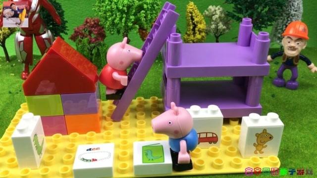 积木强和奥特曼拼玩具光头桌面积木图片