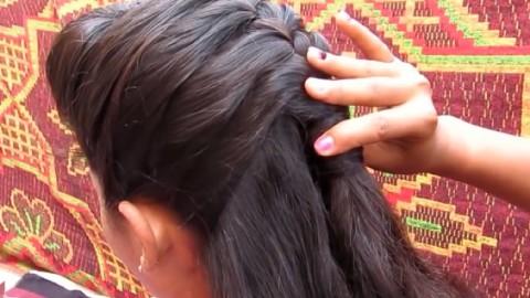01:31  腾讯视频 中长发发型简单扎法,儿童发型绑扎步骤  01:46  爱