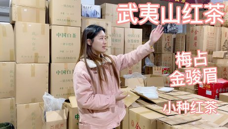 小菁来到红茶原产地,对比几款各价位等级金骏眉,你更中意哪款?