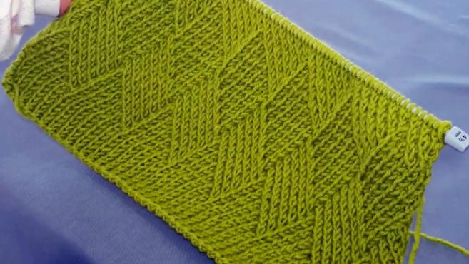 43种棒针编织花样 100种棒针花样编织图解