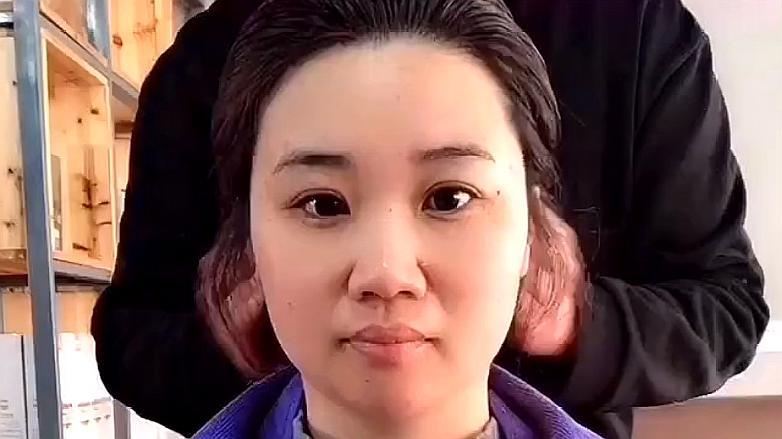 来源:好看视频-圆脸女生发型别乱剪,垫发根烫发尾,时尚显脸小 5最适合图片