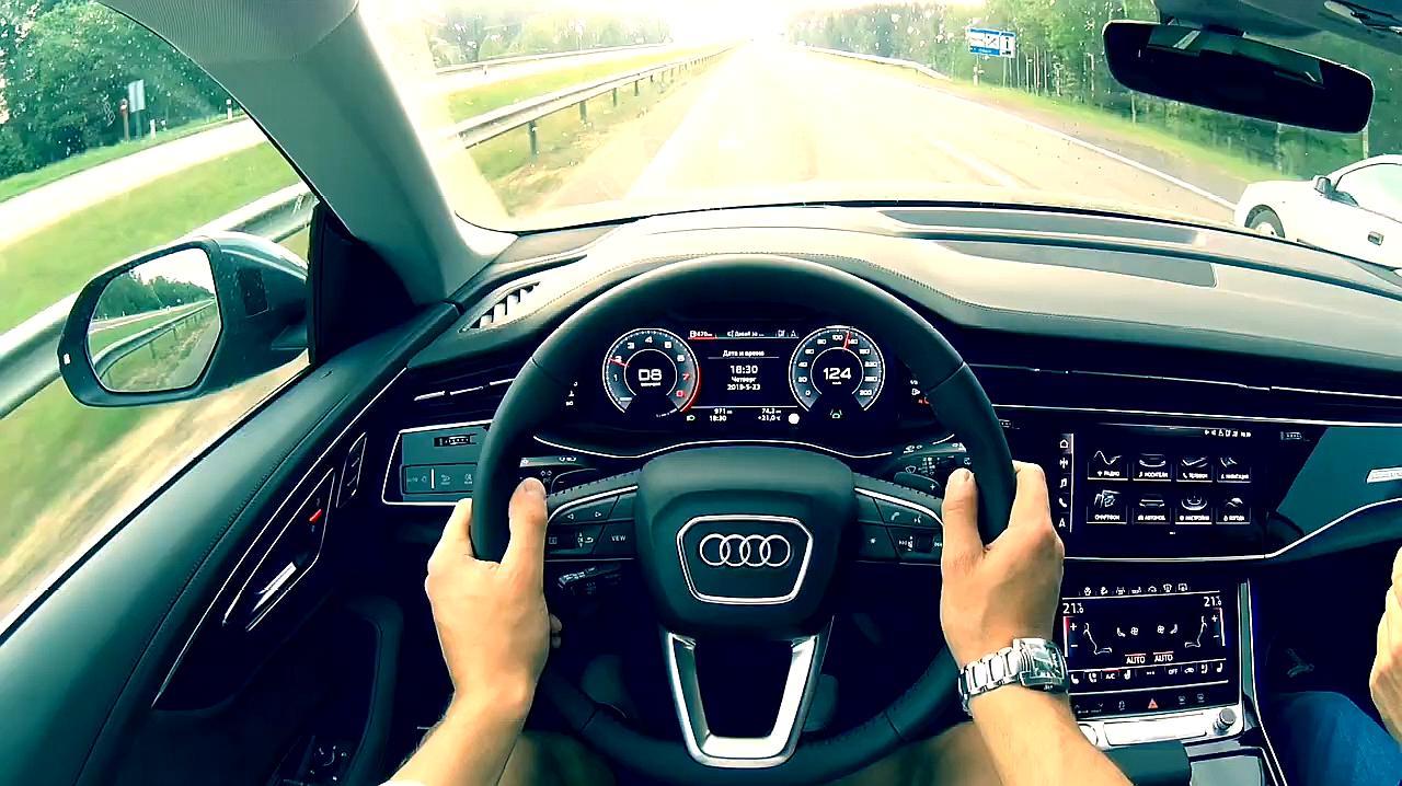 抢先试驾2020款奥迪Q7,开车上路那刻才知道视野多宽阔