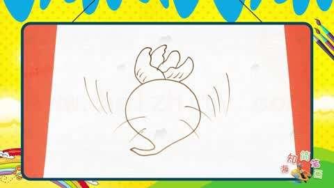 教宝宝认识蔬菜从蔬菜简笔画开始!
