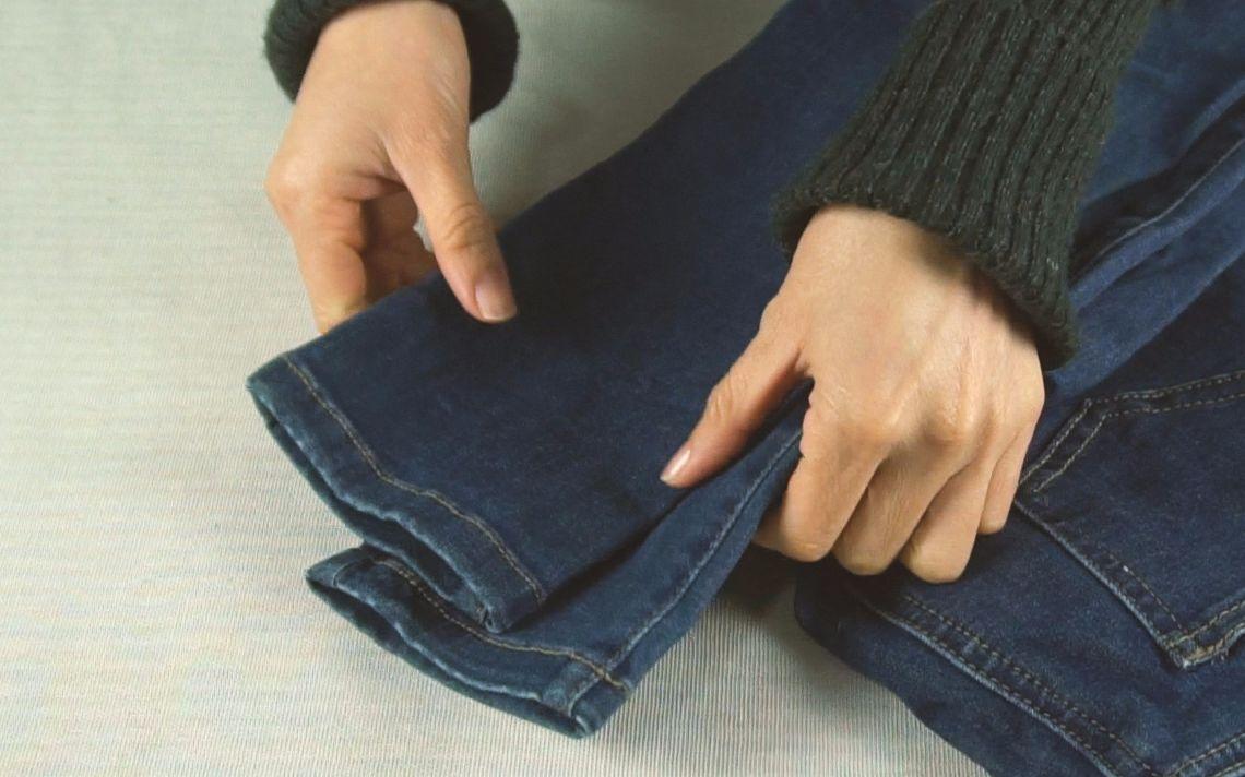 裤脚太长了怎么办?不用花钱请人改,教你隐形无痕缝法,简单又实用