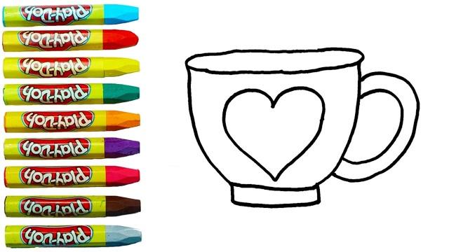 儿童简笔画:可爱饮料杯子喝喝  09:00  腾讯 幼儿简笔画:可爱杯子