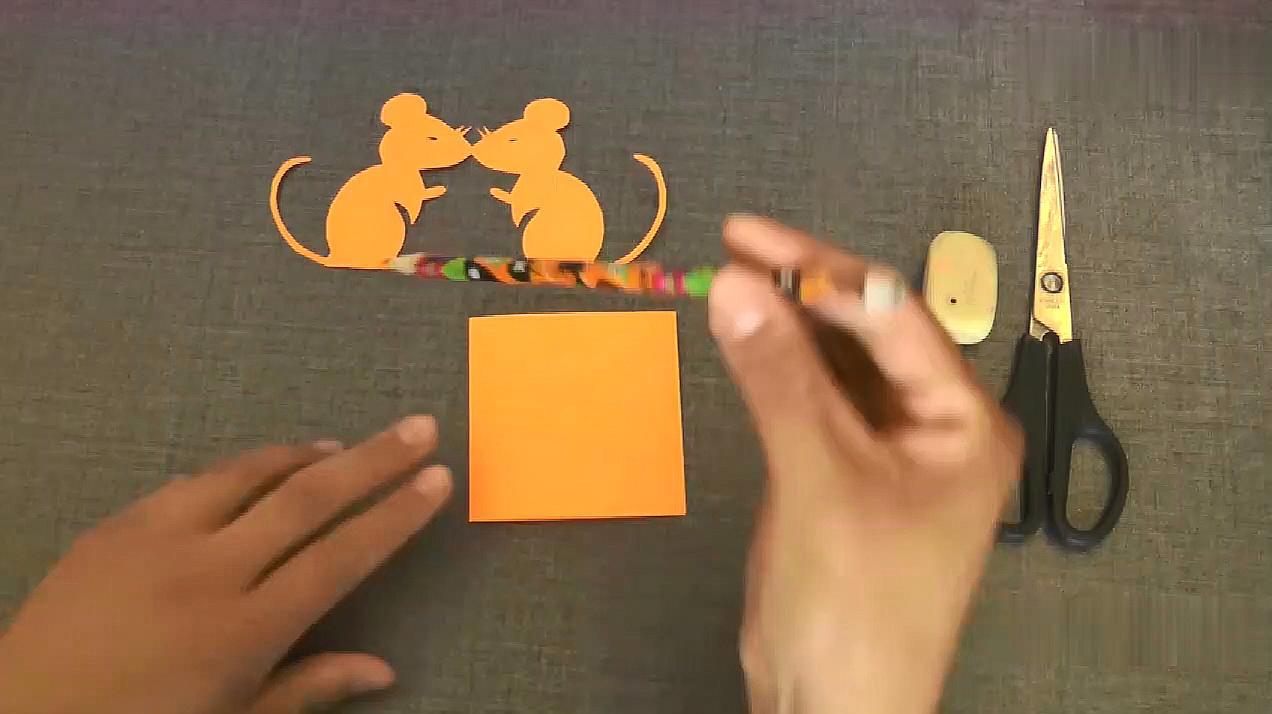 2幼儿园小老鼠手工制作:做一个剪纸小老鼠  01:40  来源:好看视频