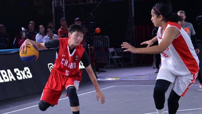 中国三人篮球国家男、女队 入围 2020 年东京奥运会
