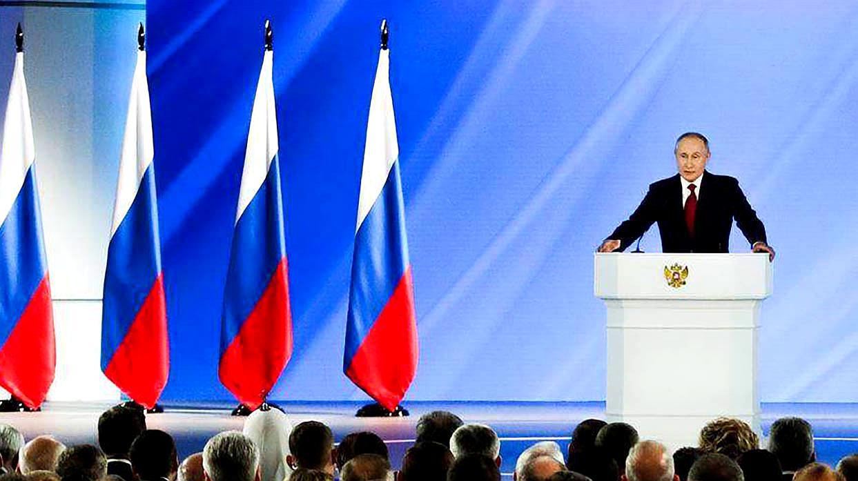 普京发表俄国情咨文:在制造新型武器方面首次超越其他国家