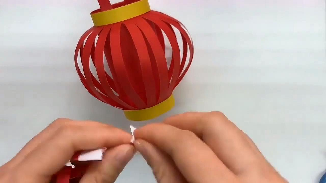 小学生手工灯笼制作方法,如何制作简单的灯笼