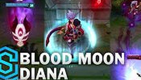 【搬运】【英雄联盟】腥红之月  黛安娜