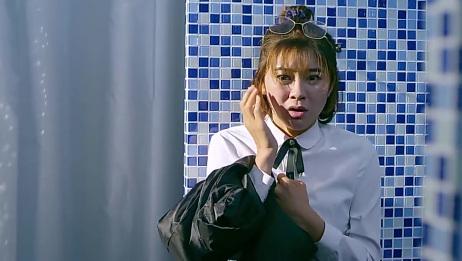 女浴室有水声却没人应,女子拉开窗帘一看,立马吓得尖叫了!