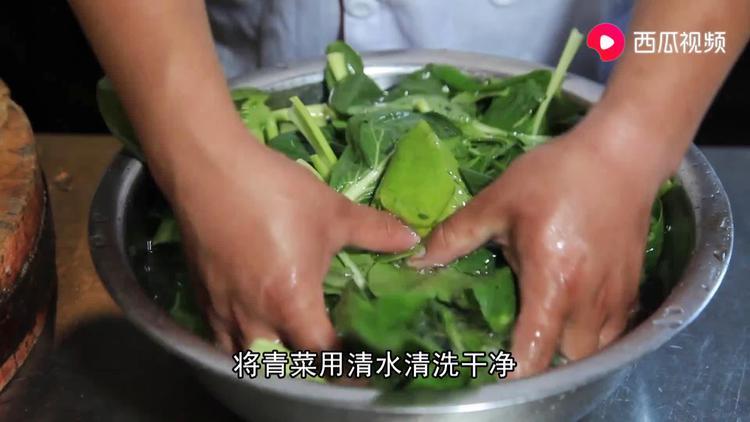 为什么饭店的炒青菜好看又好吃,大厨教你在家做,简单易学