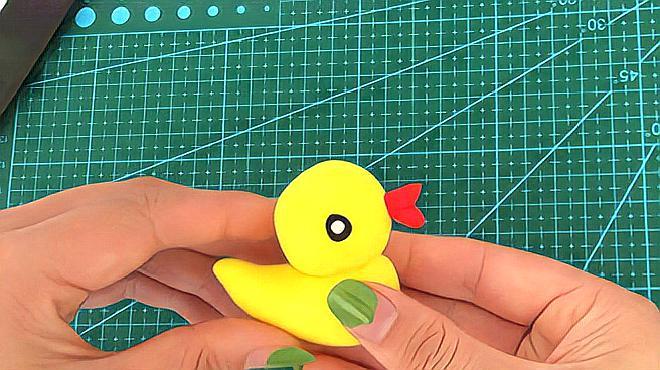 教你制作鸭子粘土,简单又好看!