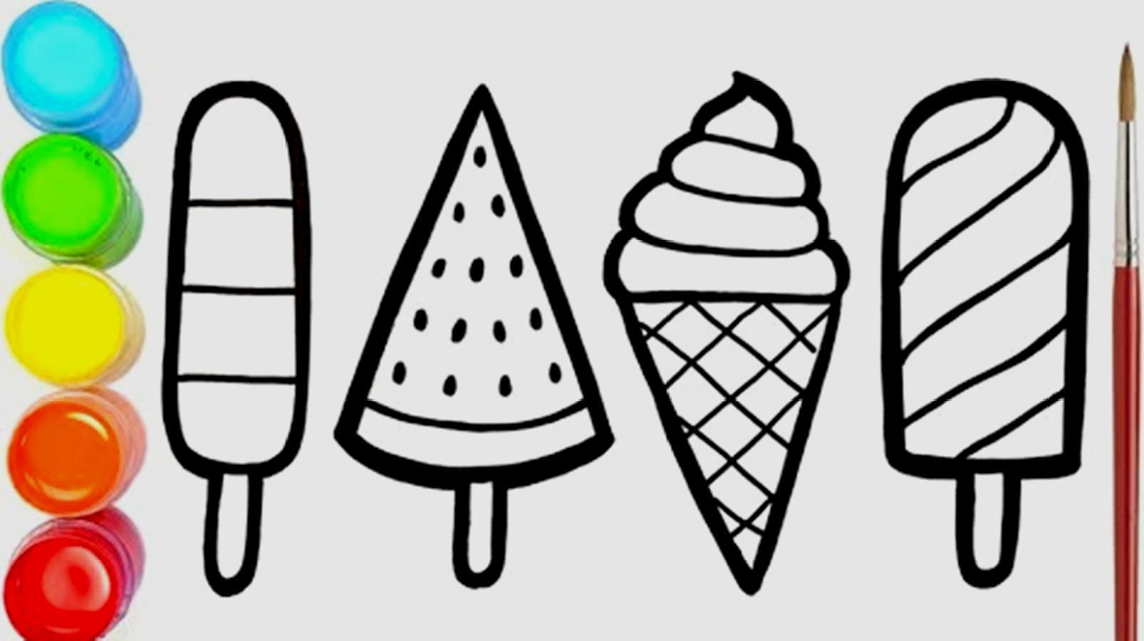 冰淇淋简笔画怎么画
