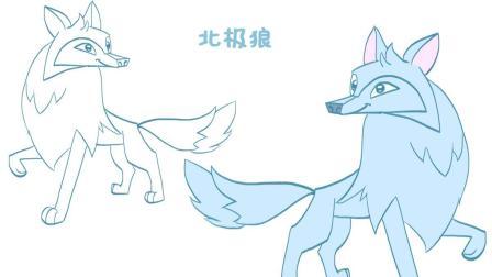 2野狼简笔画方法  02:02  来源:好看视频-如何画野狼 一分钟学会简笔