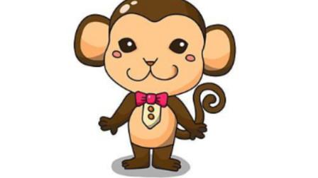 你没见过的猴子简笔画独特画法