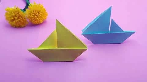 折纸摆件教程,折一个摆在桌子上吧