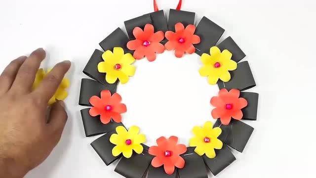 简单手工制作 漂亮的向日葵花 教师节礼物   05:15  土豆 简单手工