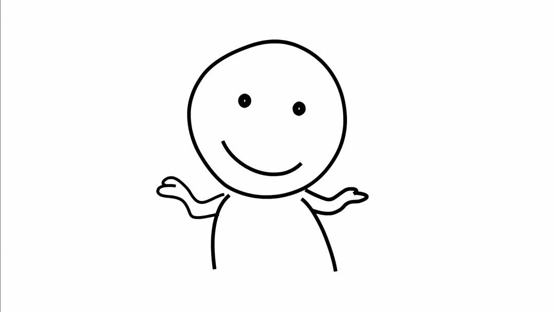 表情包简笔画怎么画?