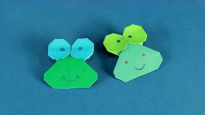 手工制作青蛙掌