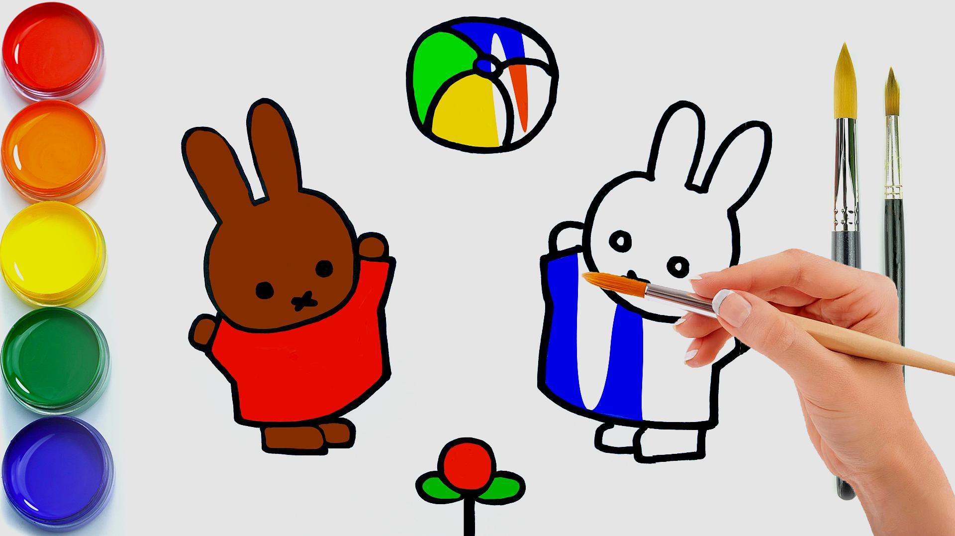 00:39  来源:爱奇艺-画画美术课堂:今天教小朋友画彩色米菲兔 服务