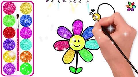 亲子简笔画:可爱的小花  02:49  腾讯 这朵花儿正在对着你笑,看它笑