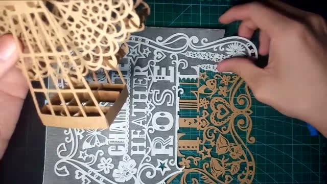 纸雕设计丛书-风景遍