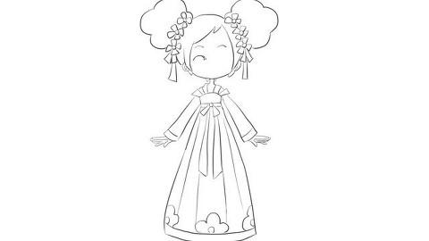 03:13  搜狐视频 小花仙之可爱漂亮的山茶花精灵王儿童卡通简笔画图片