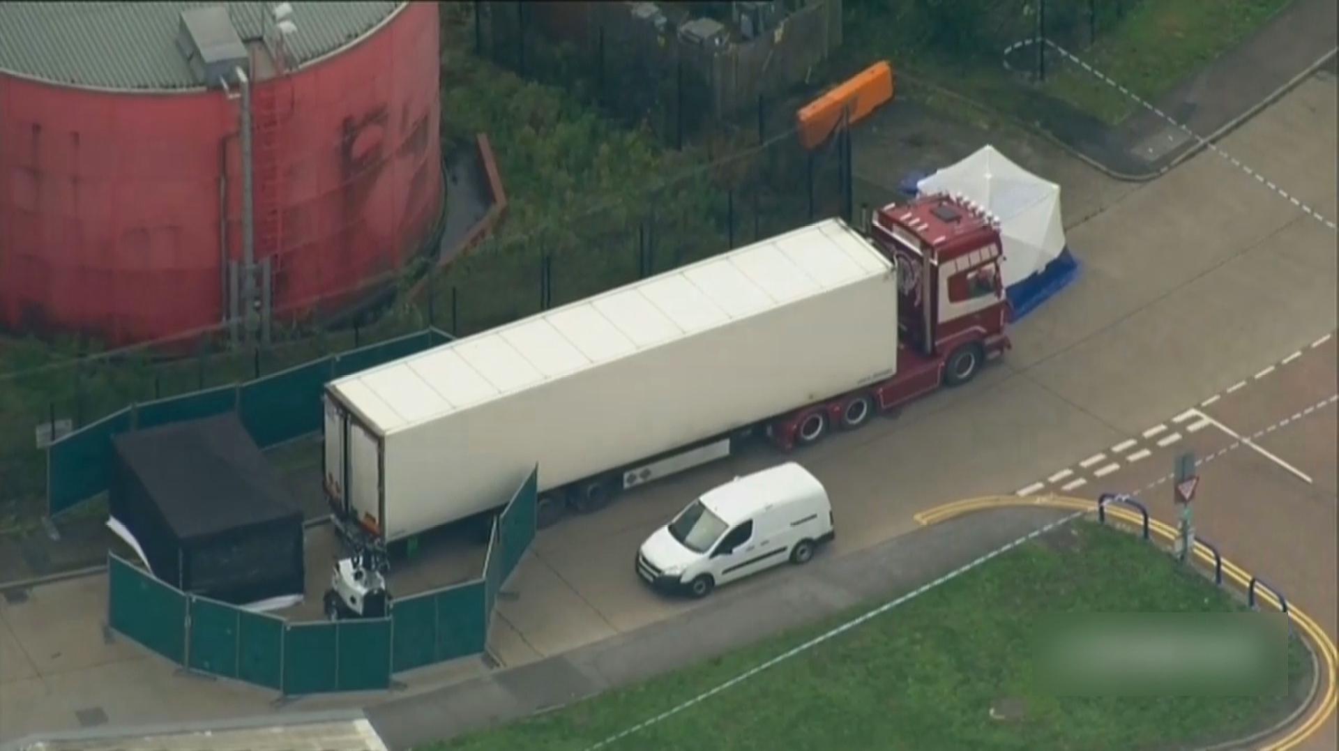 英国一货车惊现39具遗体 英媒称均为中国籍