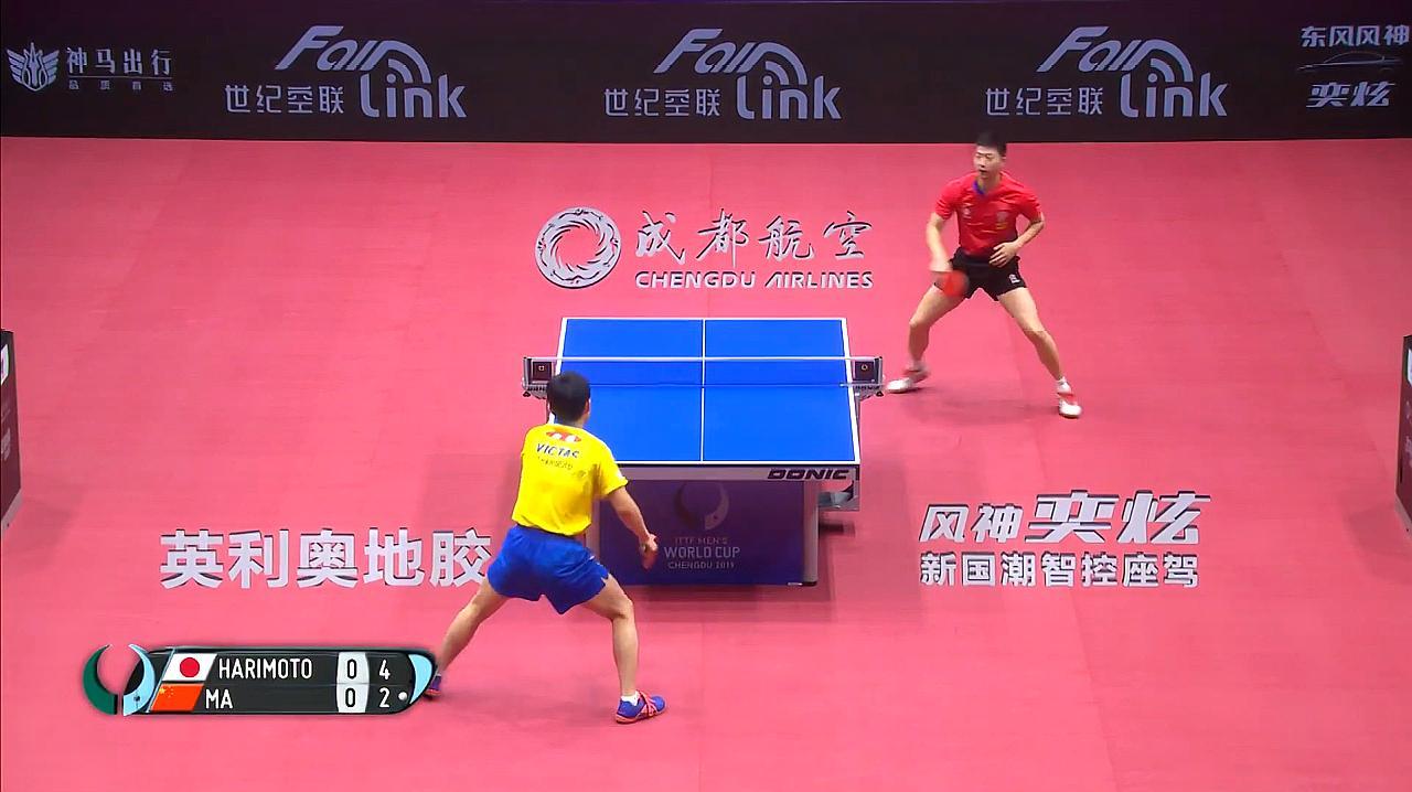 乒乓球世界杯:马龙不敌张本智和,比分全记录