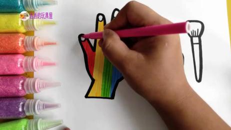儿童简笔画教程,教你画化妆品和小蛋糕,312岁小朋友学习画画