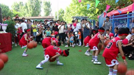 凯旋社区幼儿园《篮球宝贝》表演