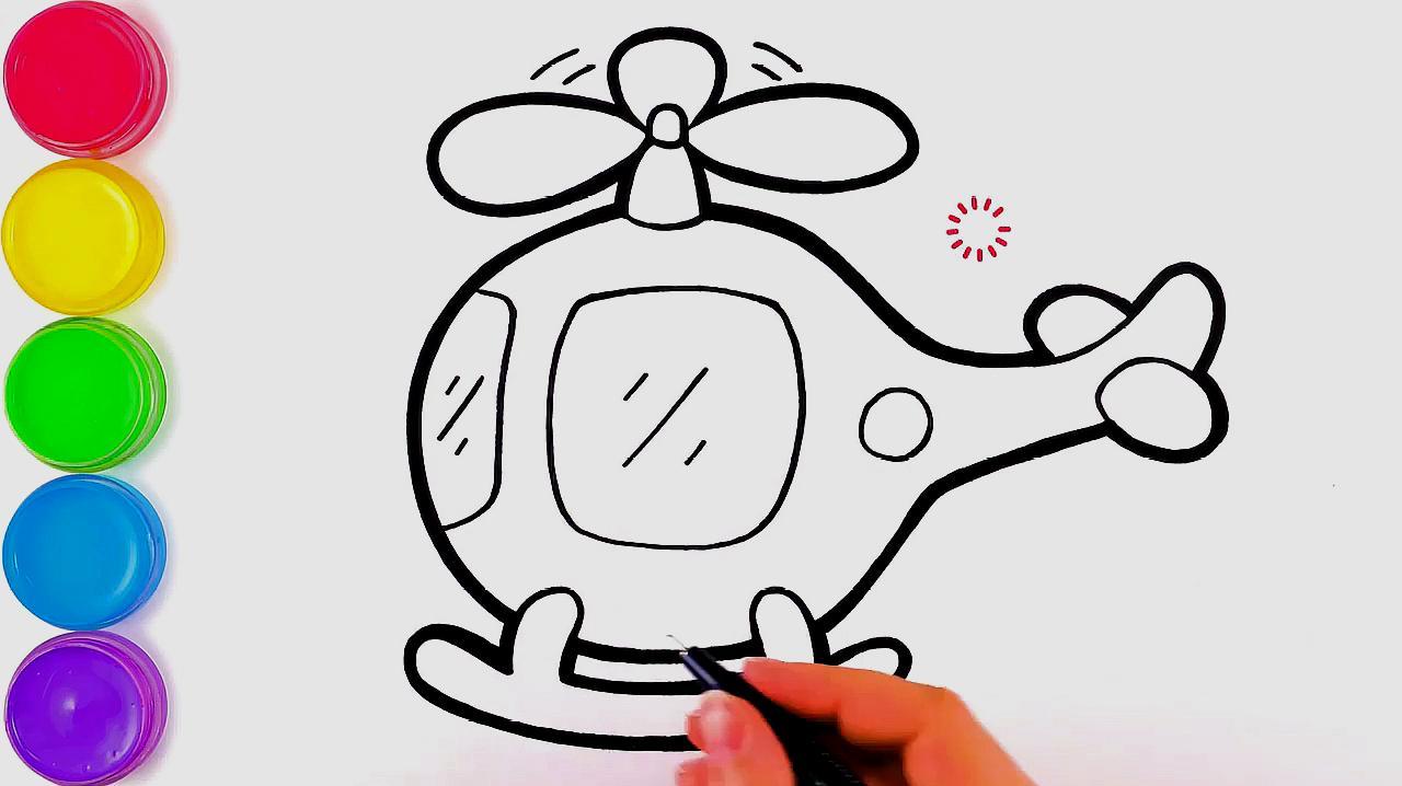 1航天飞机的简笔画:先把航天飞机外面的轮廓画出来,然后画尾翼,两个
