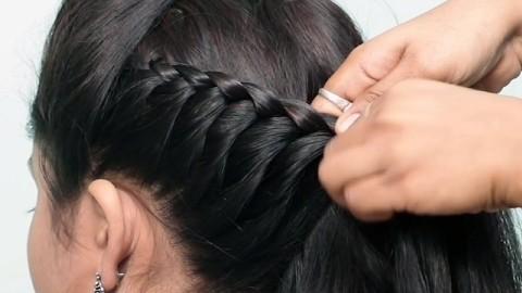 简单美丽发型可爱发型教程,各种中长发编发教程,你学会了吗!图片
