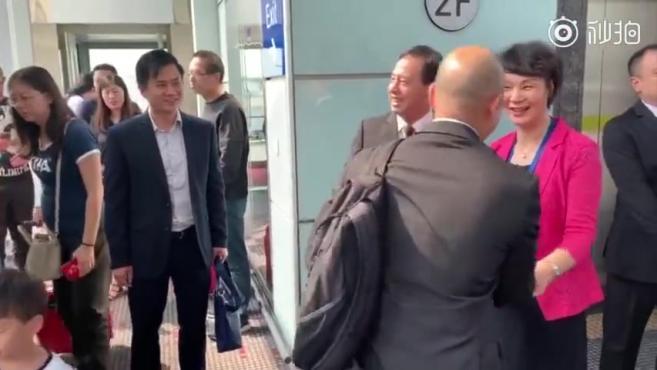 """""""光头警长""""刘Sir抵达北京"""