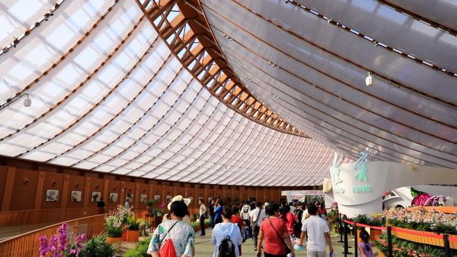 北京世园会闭幕:入园参观人数近千万,将转型超大园艺功能区