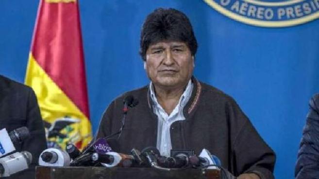 刚辞职的玻利维亚总统获墨西哥政治庇护