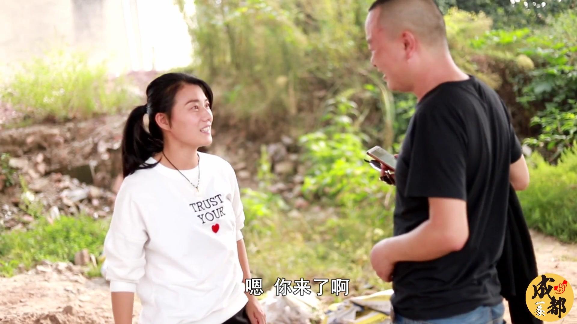 四川方言:幺妹儿谈恋爱不找长得帅的,搞得男朋友天天提心吊胆!
