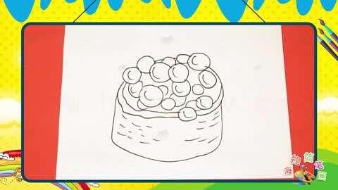 食物简笔画大全 第12集: 画军舰卷