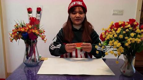 晴天手工分享:教你儿童手工折纸西瓜,简单又漂亮一起来学习吧!