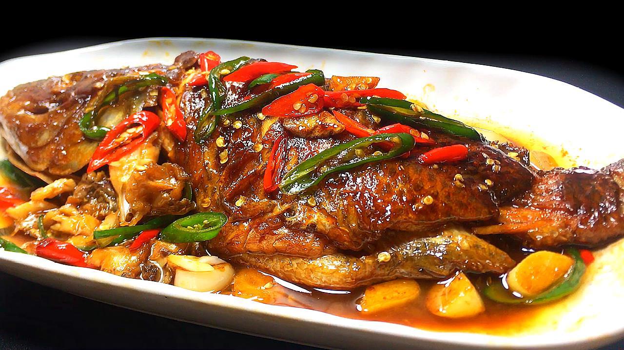 罗非鱼是非常好吃的出处食材,快来学一学做吧!戴萌耳红狼的一道图片