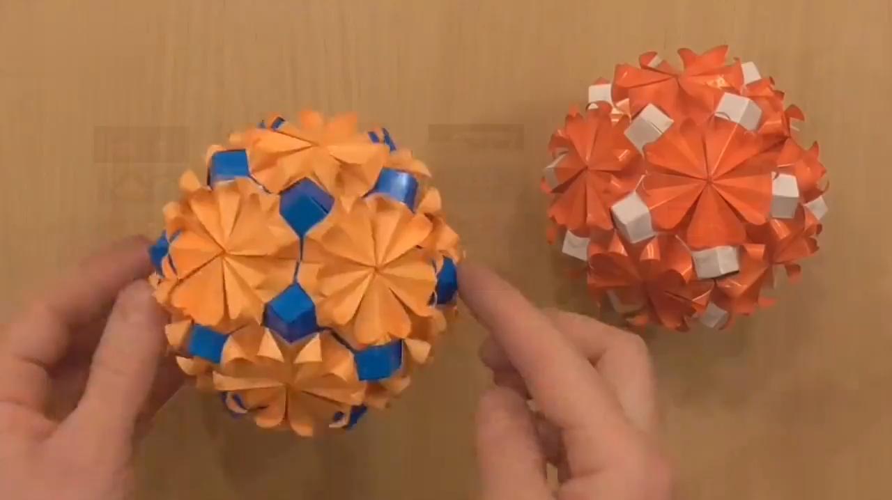 手工制作折纸小船