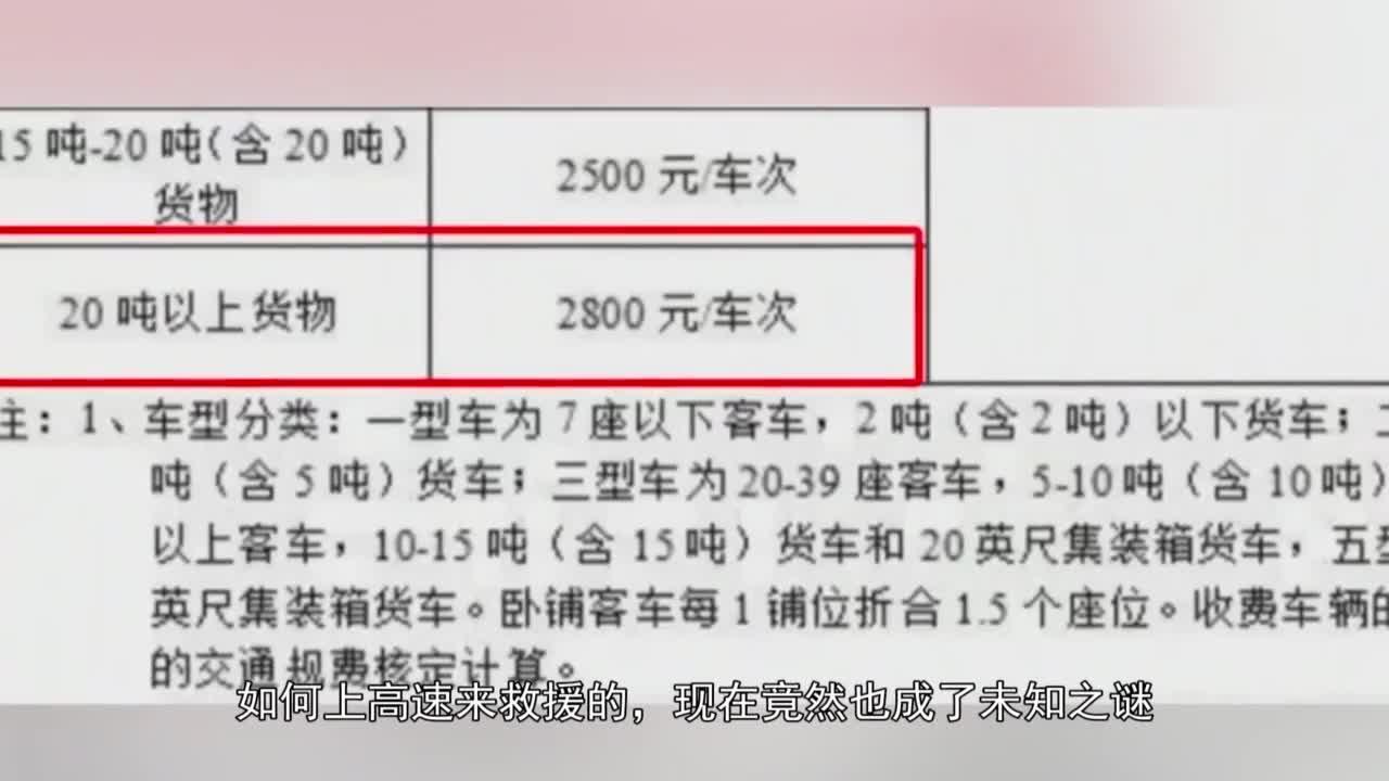 """最新官方通报!天价施救费的""""贺氏吊装公司""""无人知晓?"""