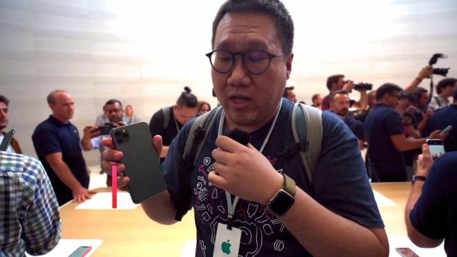 「极速上手」地表最强iPhone手机 iPhone 11 Pro Max现场上手体验