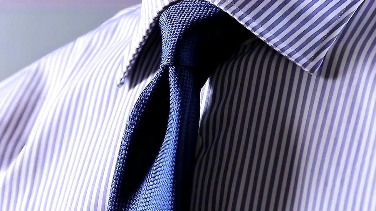 领带怎么打,很多人都不会,教你一招简单快速打领带