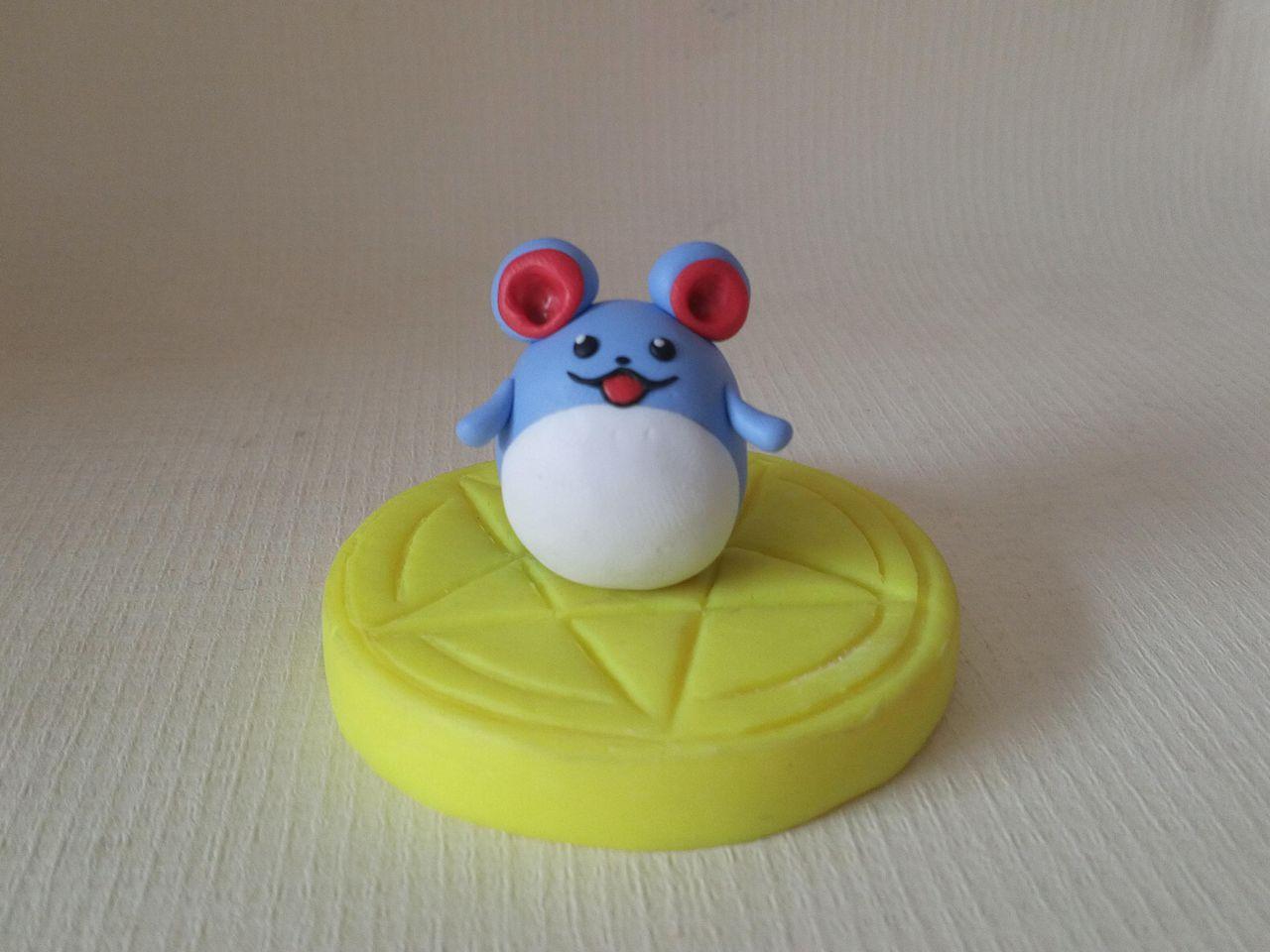 儿童粘土创意小老鼠分享