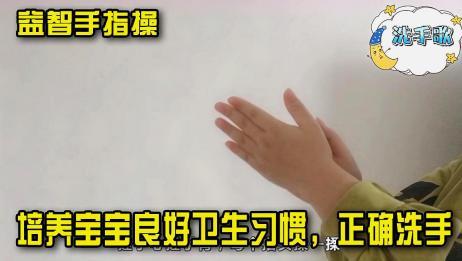 益智手指谣:《洗手歌》培养宝宝良好卫生习惯,知道如何正确洗手