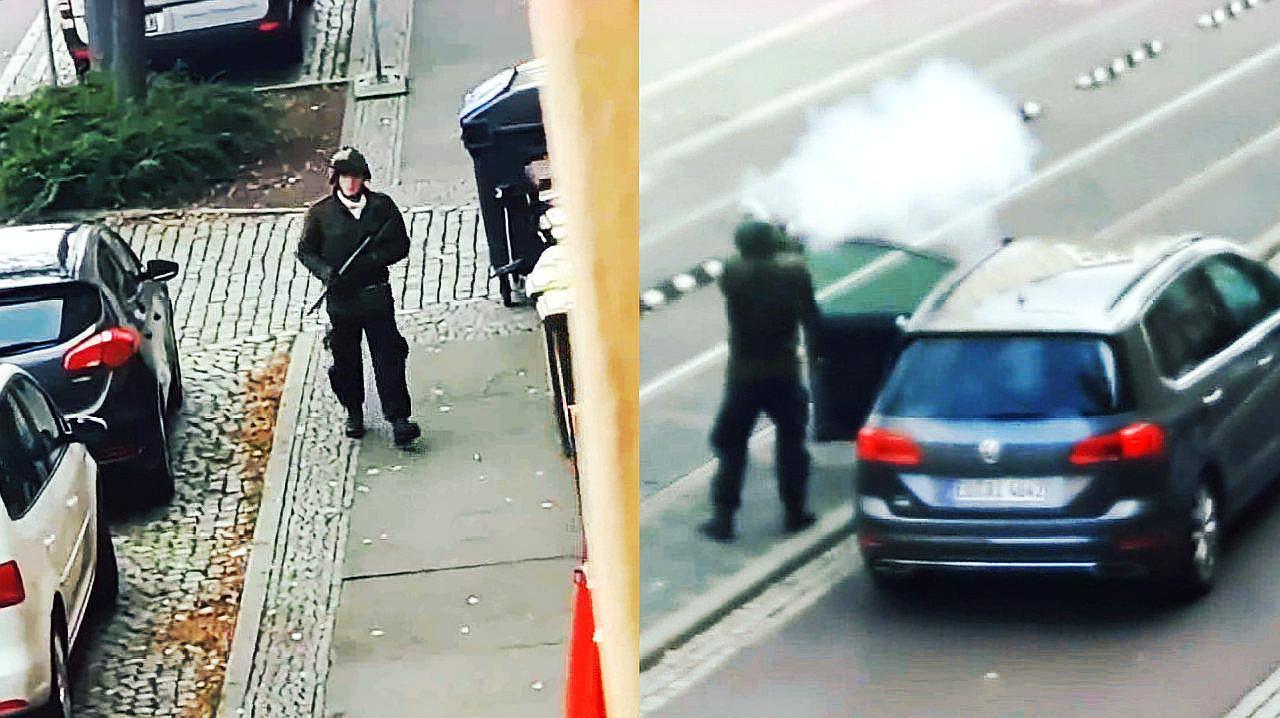 德媒公布哈雷枪击事件部分现场画面 仍有不知具体数量嫌疑人在逃